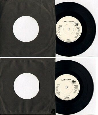 "SALT 'N PEPA - PUSH IT (US REMIX) - 45 rpm 7"" Single FFRR2 1987 C#Y"