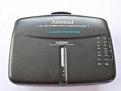 Amstrad Personal Stereo & Radio Cassette Player MX40 retro Tested Walkman