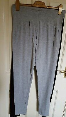 Maternity leggings UK18, V by very. 2 pairs grey and black.