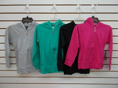 Girls Limited Too $46 Gray, Teal, or Black Light Weight Hoodies Size 7/8 - 14/16