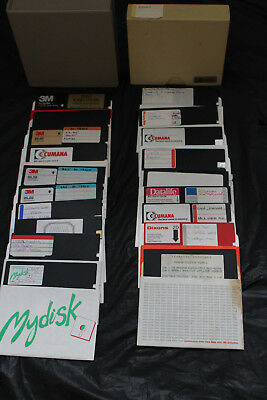 19 X 5.25 floppy disks for the Vintage BBC Micro Computer in 2 Boxes +VGC
