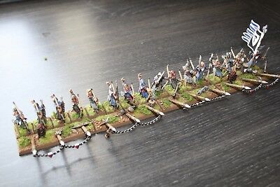 Warhammer Bretonnian 16 man Archery unit fully painted