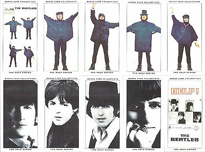 The Beatles Warus 10 Original Mini Card Set 'The Help Series' Limited Edition