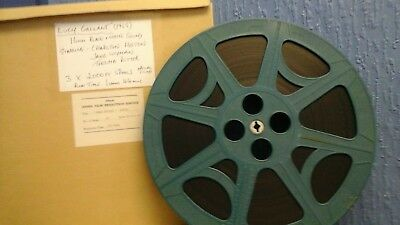 16Mm Lucy Gaillant 1955 Full Feature Film (3X 2000Ft Spools) Optical Sound.