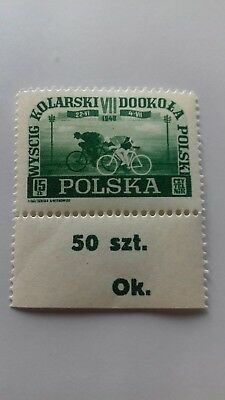 poland 1958 .Fi 456/58 with serial number 50 szt . Ok.
