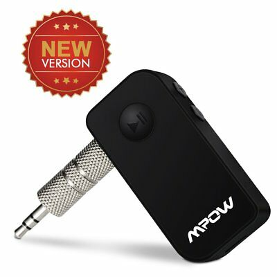 MPOW 3.5mm Bluetooth Wireless Audio Adapter Receiver Car Kit AUX Stereo Protable