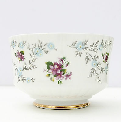 Vintage Royal Stafford Enchanting Bone China Floral Sugar Bowl