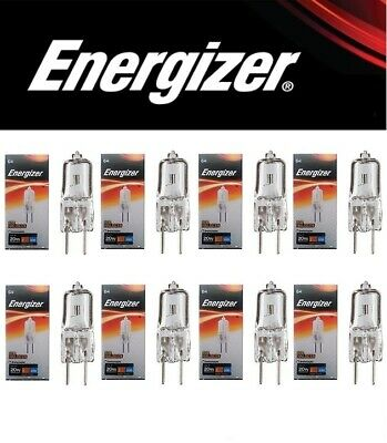 10 x G4 16w=20w ENERGIZER DIMMABLE ECO HALOGEN ENERGY SAVING bulbs Capsule 12V