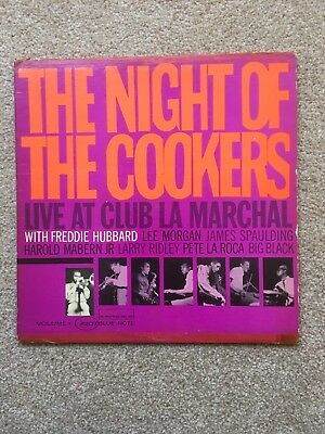 Freddie Hubbard The Night Of The Cookers Mono Original Blue Note
