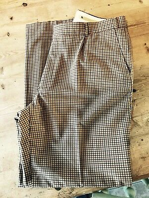 Magee Vintage Check Trousers