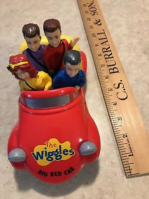 The Wiggles! Big Red Car Toy, 2013, Girl Yellow Wiggle, Plays Music And Drives