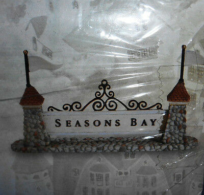 New! Dept 56 Seasons Bay Sign