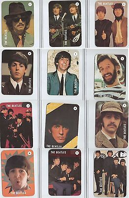 1990s The Beatles 12 Card Portuguese 1992 Calendar Set VERY RARE
