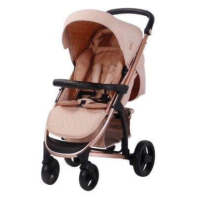 My Babiie Billie Faiers MB200 Rose Gold and Blush Stroller Pushchair