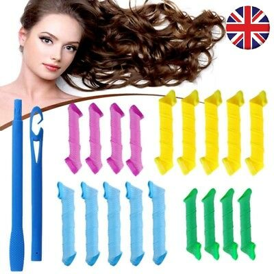 DIY Magic Hair Curlers Styling Curlformers Spiral Ringlet Hairband Tool