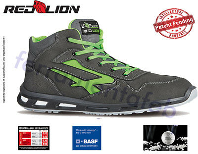 Scarpe Upower Redlion Hummer Alte Antinfortunistiche S3 Src Red Lion U-Power  New 8194ba87949