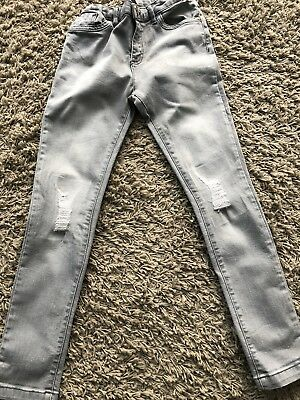 River Island Girls Skinny Distressed Jeans Age 11