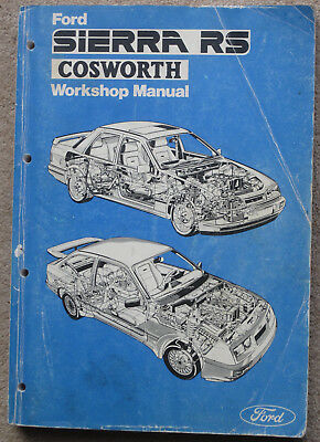Ford Sierra Rs Cosworth Workshop Manual