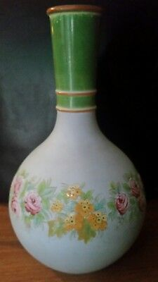 watcombe torquay pottery bottle vase attributed Christopher dresser pompeii
