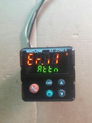 WATLOW EZ-ZONE PM6C1EC-AAAABAA.  Temperature controller.  Used.