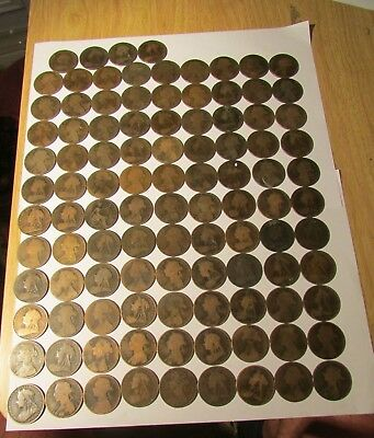 Over 100  Queen Victoria Penny Coins    Uk Delivery Only