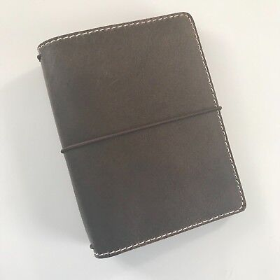 Chic Sparrow Deluxe A6 Outlander leather traveler's notebook