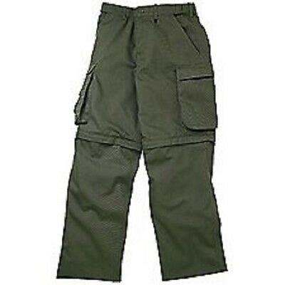 Boy Scout Men's Canvas Convertible Classic Fit Pants BSA New