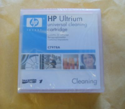 HP Genuine C7978A LTO Ultrium Cleaning Cartridge -New, Sealed