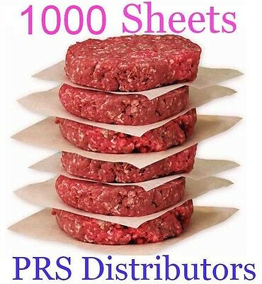 BEST QUALITY Hamburger Waxed Patty Paper Deli Cheese Dry Waxed Paper 1000 sheet