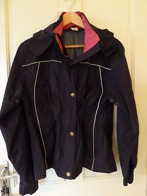 Equestrian girls riding jacket, 11 - 12 years, excellent condition, showerproof