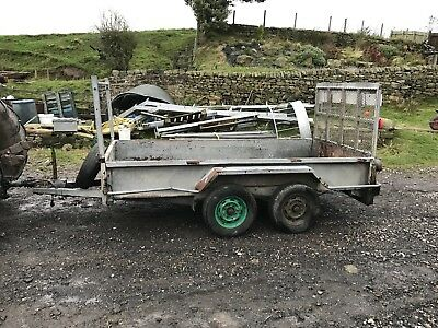 LOADMASTER 10 X 5 Ft PLANT TRAILER TWIN AXLE MINI DIGGER BOBCAT