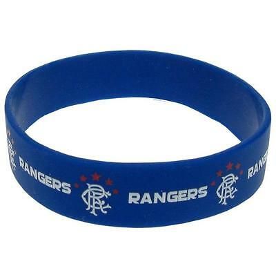 GLASGOW RANGERS Silicone WRISTBAND Licensed Official GLASGOW RANGERS Merchandise