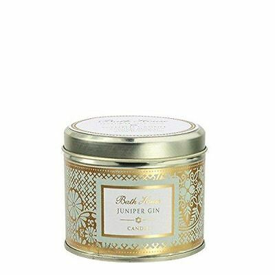 Classic Collection Juniper Gin Scented Pure Soy Candle by Bath House