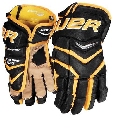 """Bauer Total One NXG 14"""" Ice Hockey Gloves"""