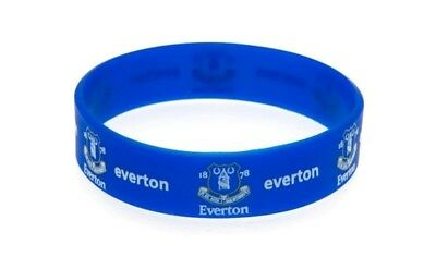 EVERTON Silicone WRISTBAND Licensed Official Merchandise