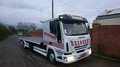 Iveco tilt and slide recovery truck excellent condition 2006 12 months test