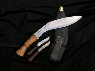 Big Historical Kukri Knife With The Scabbard (Ws400484)