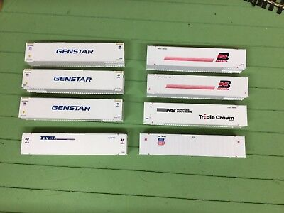 HO scale 48ft model containers