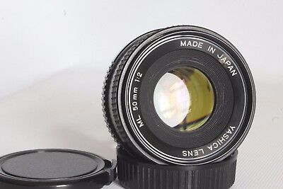 Yashica Ml 50 Mm 1:2.0 Standard Lens Yashica Bayonet Fit Good Condition (Used)