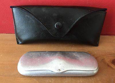 Vintage Glasses and Sunglasses Case