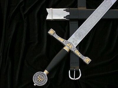 Sword Excalibur With Scabbard And Belt V752
