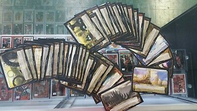 MTG MAGIC 2012 Complete Planechase 40 card set in sleeves