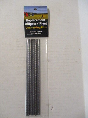 """Universal Replacement Alligator Rivet Connecting Pins 7"""""""