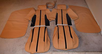 Ferrari 308 GTB (1976) Seat and Door Panel Cover Kit, Complete-Tan-NICE!!! NEW!