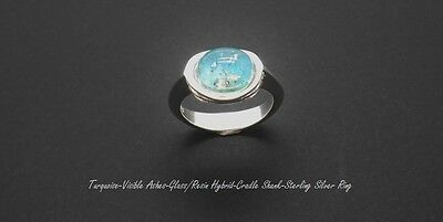 Ashes Cremation ring 925 Sterling Silver Ring Sizes j-r