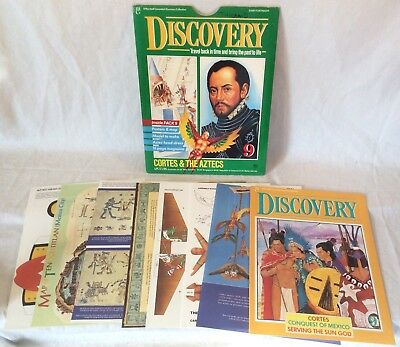 "Collectable Marshall Cavendish Discovery ""Cortes & The Aztecs"" Part 9"