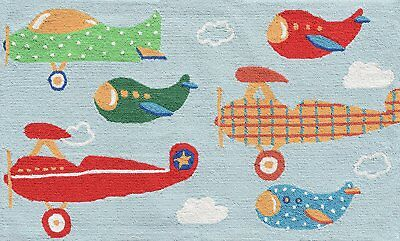 The Rug Market Air Show Children's Area Rug, 2.8' x 4.8'
