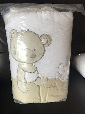 Mothercare Bear And Friends Cot Bumper Also For A Cot Bed And Cot pockets
