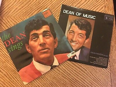 Dean Martin:Job Lot:V inyl LPs Easy Listening: Dean of Music and the Dean Sings