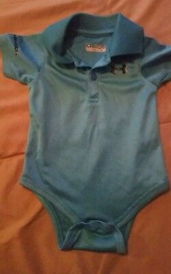 Boys 0/3 month under Armour Polo one piece